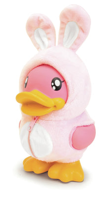 B.Duck Savings Banks - Pink Rabbit Costume Money Box