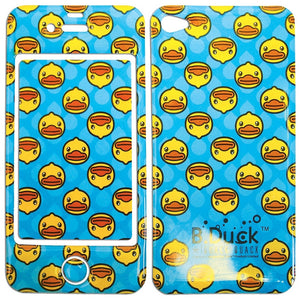 B.Duck I Phone Skin Sticker - Blue Ducks