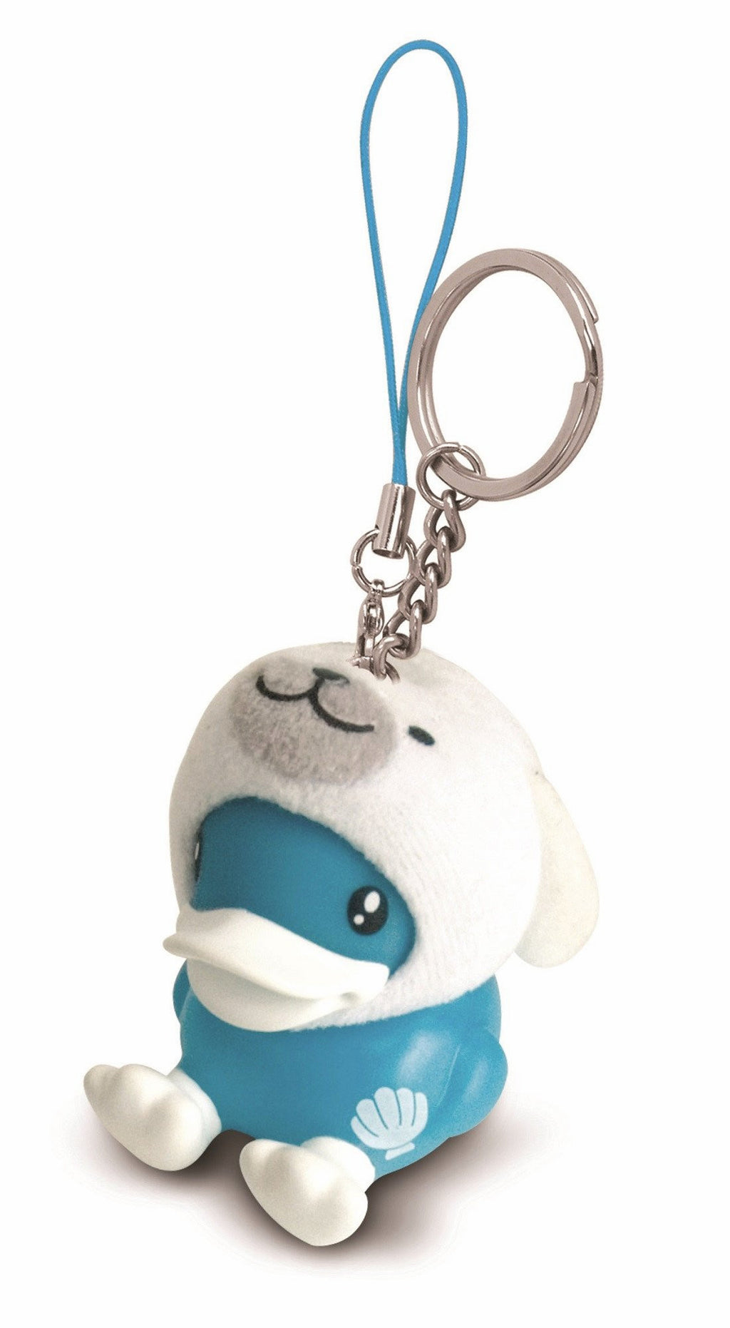 B.Duck Keyring - Seal Design