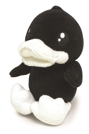 B.Duck Black Medium Soft Toy
