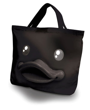 B.Duck Black Tote Bag