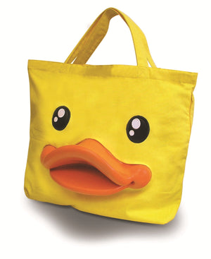 B.Duck Yellow Tote Bag