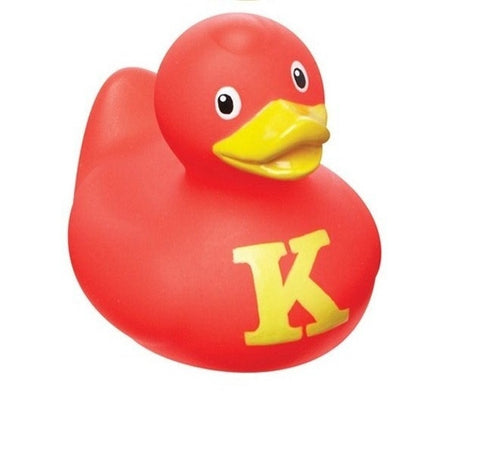 Mini Alphabet Coloured Collectible  BUD  Duck Letter K by Design Room - New BNIB
