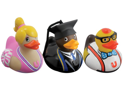 Mini Bud Designer Duck set College (3PK) by Design Room - New BNIB