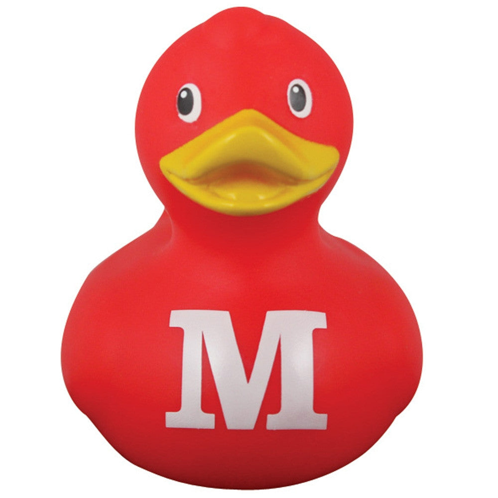 Collectible  Alphabet BUD  Mini Duck Letter M by Design Room - New BNIB Z
