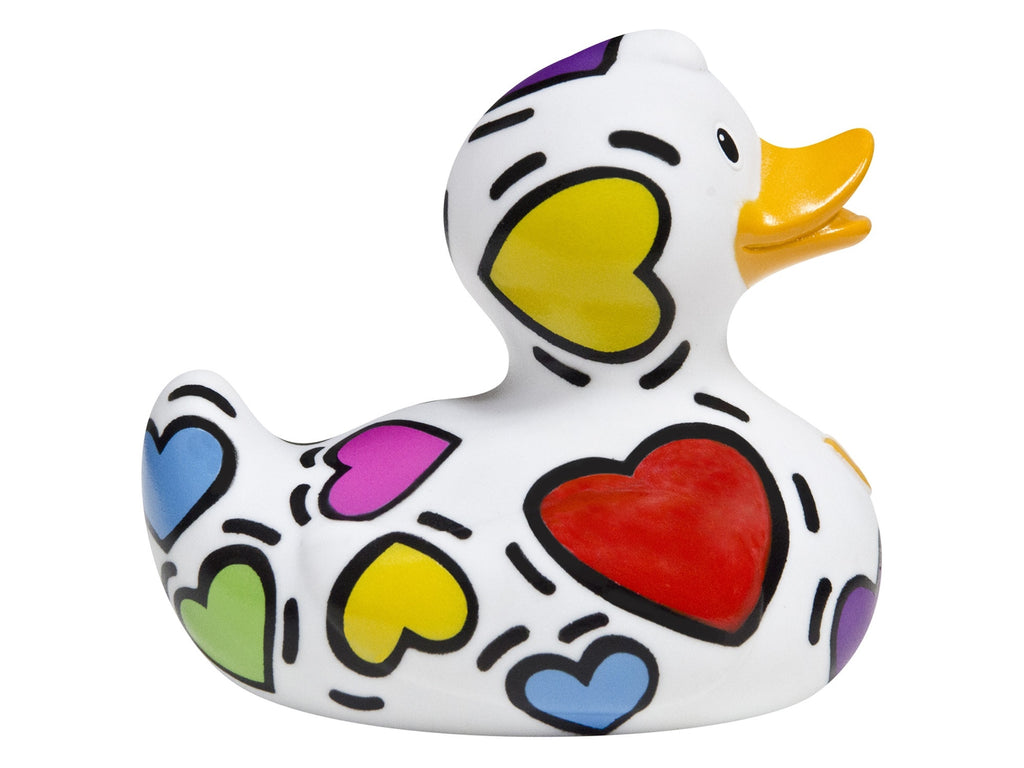 Pop Heart Bud Designer Duck by Design Room - New BNIB