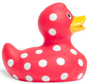 Mini Luxury Bud Duck - Polka Dot