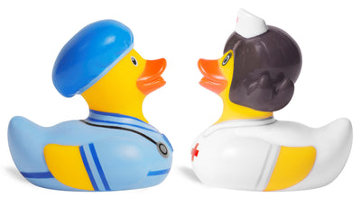Mini Deluxe Bud Duck Set - Doctor & Nurse