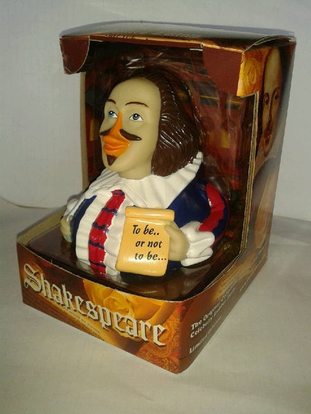 Shakespeare Rubber Duck By Celebriducks Limited