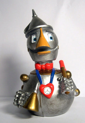 Tin Woodman Wizard of Oz Rubber Duck - By Celebriducks - Limited Edition