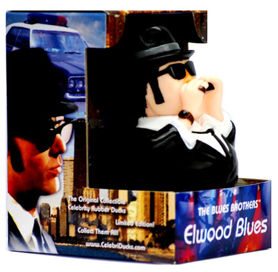 Elwood Blues Brother Rubber Duck - By Celebriducks - Limited Edition