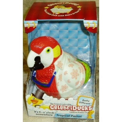 Tropical Parrot Rubber Duck - By Celebriducks - Limited Edition