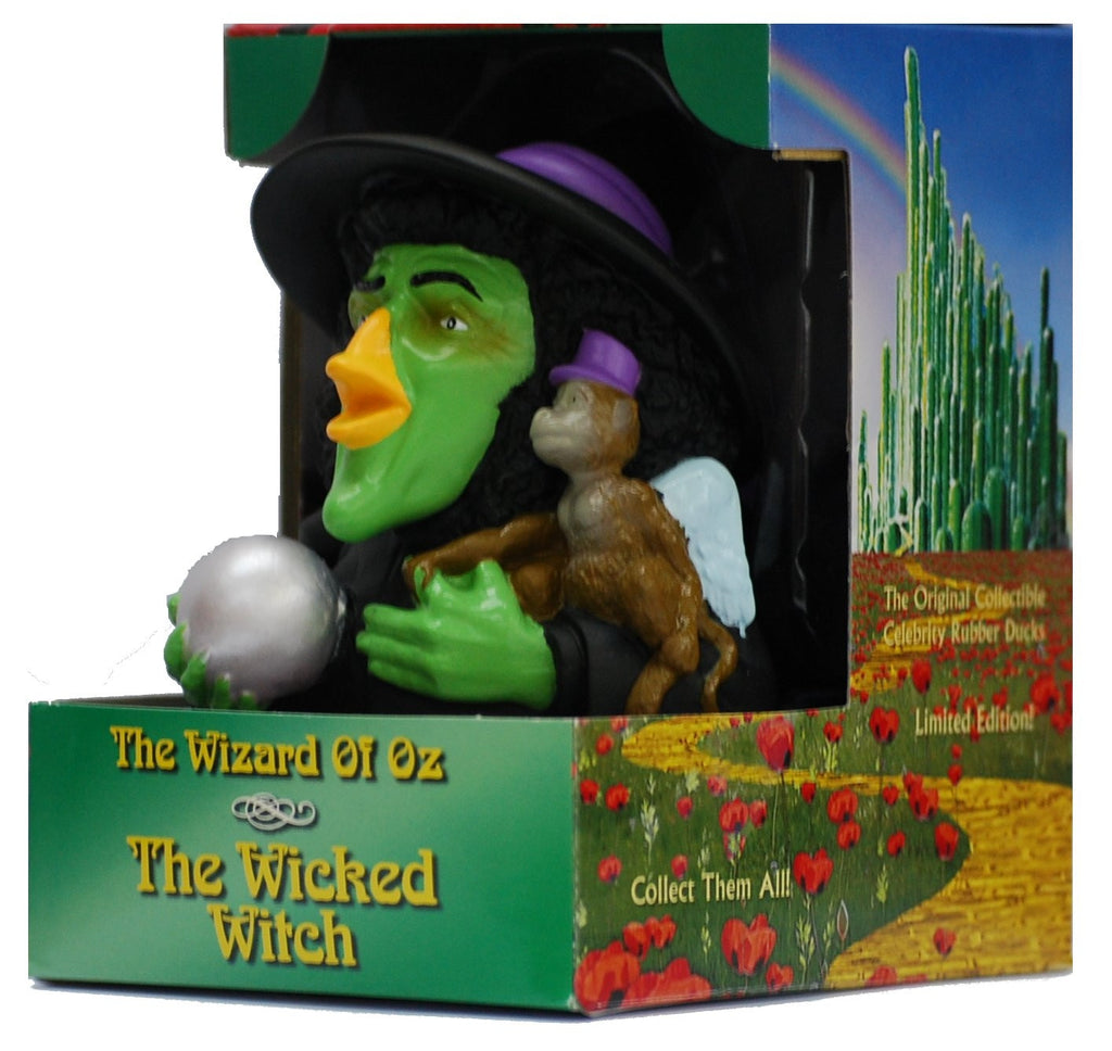 Wicked Witch of the West Rubber Duck - By Celebriducks - Limited Edition