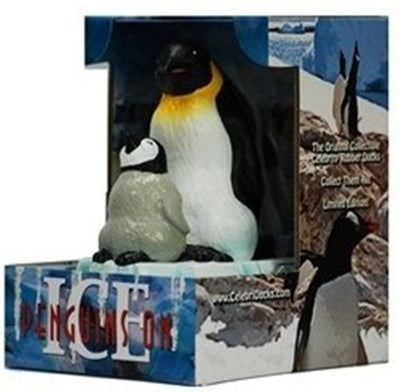 Penguins on Ice Rubber Duck - By Celebriducks - Limited Edition