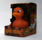 Devil Ducky Rubber Duck - By Celebriducks - Limited Edition