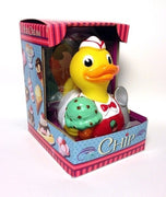 Chip, the Ice Cream Duck Rubber Duck - By Celebriducks - Limited Edition