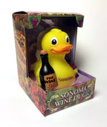 Sonoma Wine Duck Rubber Duck - By Celebriducks - Limited Edition