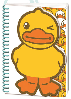 B.Duck A6 Die Cut Notebook