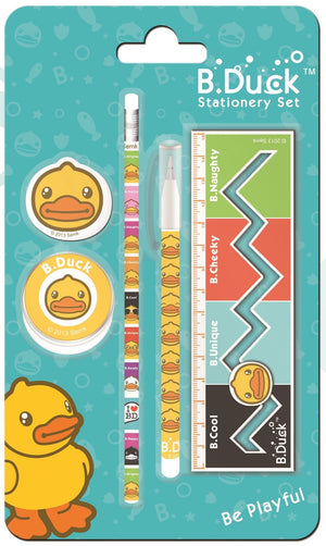 B.Duck Stationery Set