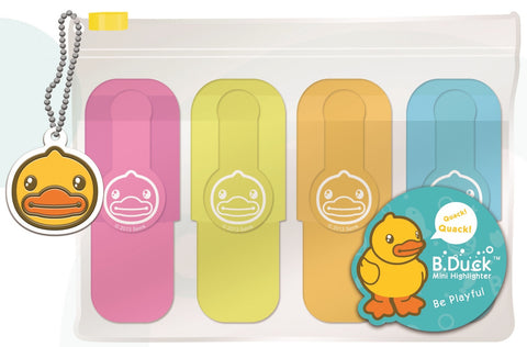 B.Duck Mini Highlighters