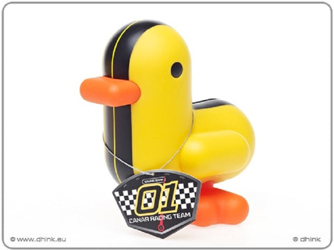 Canar 16cm banker duck RACER Series - Colour Yellow/Black Stripes