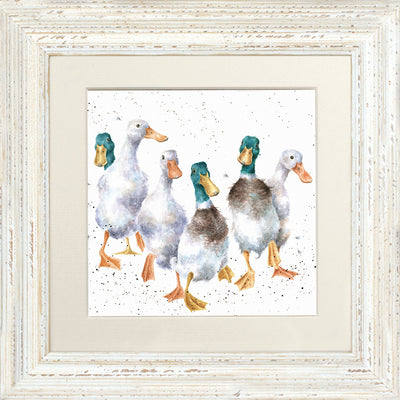 Quackers Framed Card - Wrendale Desgns
