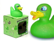Glow in the Duck - Green Light Up Colour Changing LED Rubber Duck from Locomocean