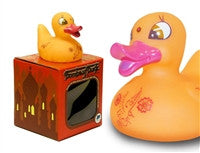 Bombay Duck Light Up Colour Changing LED Rubber Duck from Locomocean