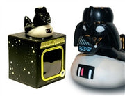 Darth Vader - Duck Fader - Pond Wars -  Fadar Light Up Colour Changing LED Rubber Duck from Locomocean