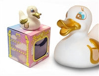 Angel Duck Light Up Colour Changing LED Rubber Duck from Locomocean