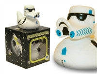 Storm - Pond Trooper - Pond Wars -  Light Up Colour Changing LED Rubber Duck from Locomocean