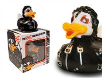 Michael Quackson Light Up Colour Changing LED Rubber Duck from Locomocean