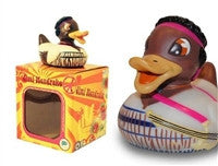 Jimi Hendrake Light Up Colour Changing LED Rubber Duck from Locomocean