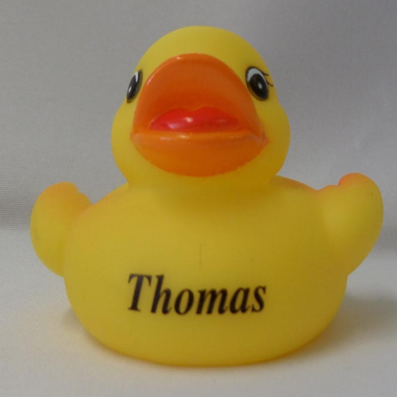 Thomas - Personalised Rubber Duck