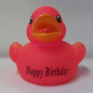 Happy Birthday - Personalised Rubber Duck