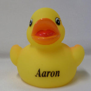 Aaron - Personalised Rubber Duck