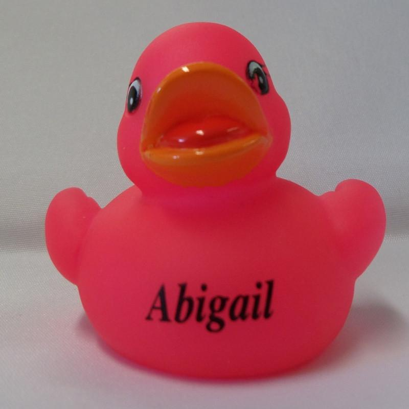 Abigail - Personalised Rubber Duck