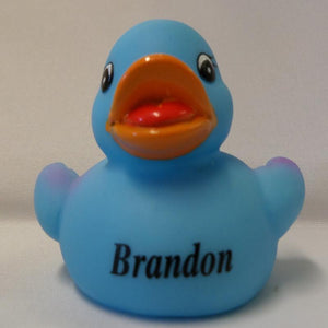 Brandon - Personalised Rubber Duck