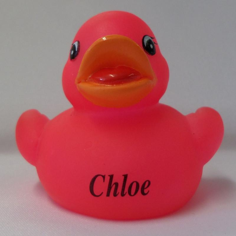 Chloe - Personalised Rubber Duck