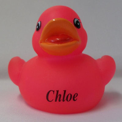 Chloe - Name Printed  Rubber Duck