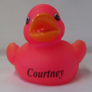 Courtney - Personalised Rubber Duck