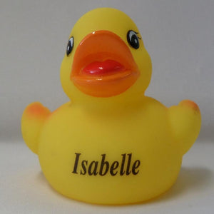 Isabelle - Personalised Rubber Duck