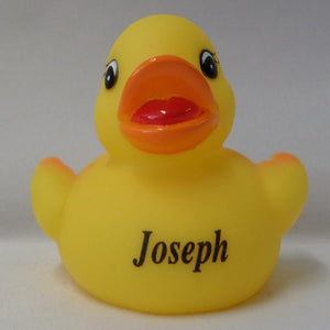 Joseph - Personalised Rubber Duck