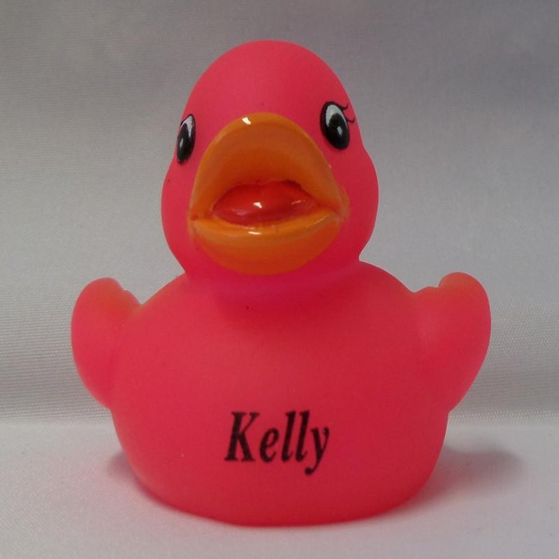 Kelly - Name Printed  Rubber Duck