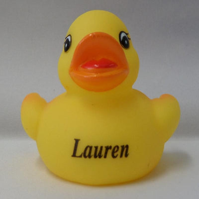 Lauren - Personalised Rubber Duck