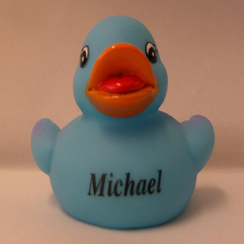 Michael - Personalised Rubber Duck