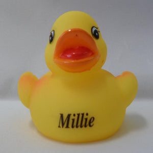 Millie - Personalised Rubber Duck