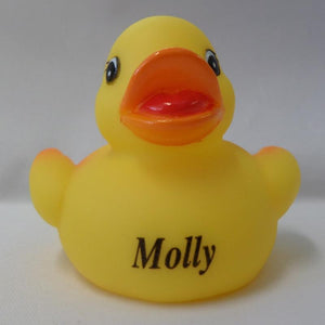 Molly - Personalised Rubber Duck