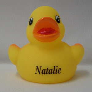 Natalie - Personalised Rubber Duck