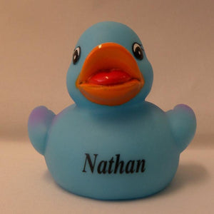 Nathan - Personalised Rubber Duck